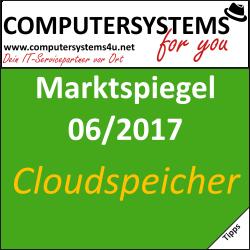 Marktspiegel 06/2017: Datenspeicher im Internet