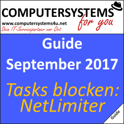 Guide: Mit NetLimiter Traffic limitieren