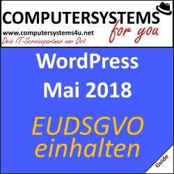 Deine WordPress-Website DSGVO-Sicher machen