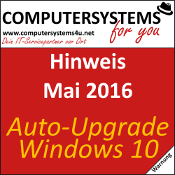 """Erzwungene"" Windows 10 Upgrades seitens Microsoft"