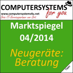 Marktspiegel 04/2014 – Neuanschaffung: Netbook, Notebook oder Stand-PC?