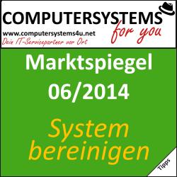 Marktspiegel 06/2014 – Wie ordentlich ist Ihr System?
