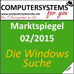 Marktspiegel 02/2015 – Suchen mit Windows (vertont)