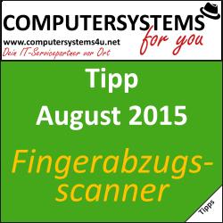 Wie sicher sind Fingerabdruckscanner?