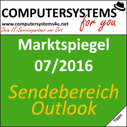 Marktspiegel 07/2016: Outlook 2013: Lesebereich-Antworten abstellen