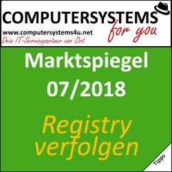 Marktspiegel 07/2018: Registrierungsänderungen nachverfolgen