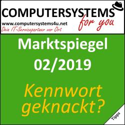 Marktspiegel 02/2019: Wurde Dein Online-Kennwort geknackt?