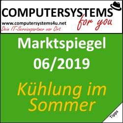 Marktspiegel 06/2019: Kühlung im Sommer